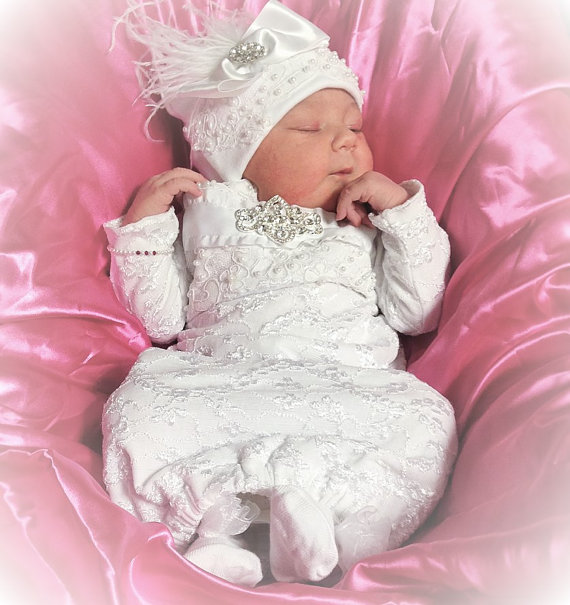 Newborn Baby Girl Dresses - Cute Gown for Newborn baby Girl