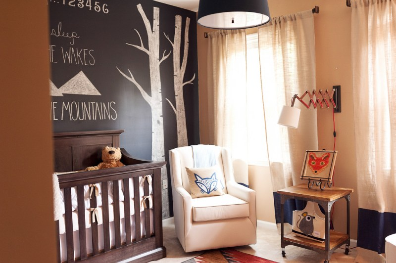 Baby Boy Nursery Ideas - Fox Nursery