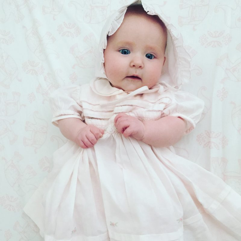 Newborn Baby Girl Dresses - White and Christening Gown