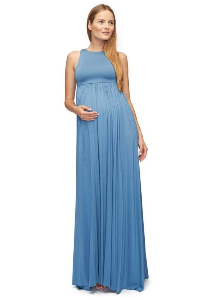 Long Maxi Maternity Dresses for Baby Shower