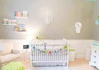 modern colorfull nursery