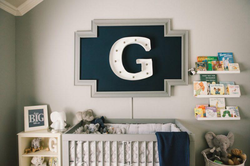 Baby Boy Nursery Ideas - Modern Nursery