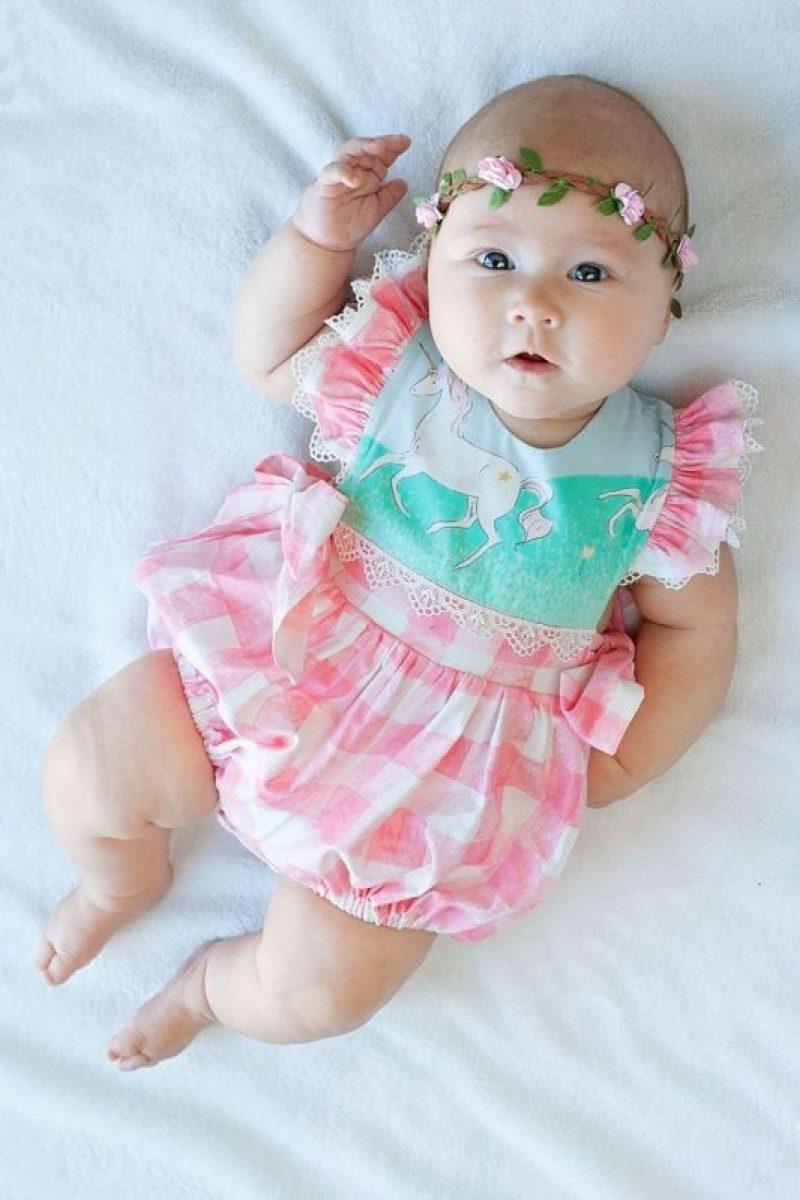 Newborn Baby Girl Dresses - Cute RomperBaby Girl Dresses