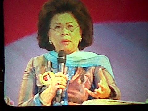 Menteri Pemberdayaan Perempuan dan Perlindungan Anak, Linda Amalia Sari Agum Gumelar ikut jadi narasumber (Sumber foto: Lita Chan Lai)