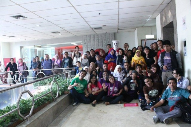 Kumpulan blogger saat usai berlangsung Sunday Sharing Blogdetik #13 (foto : Blogdetik)
