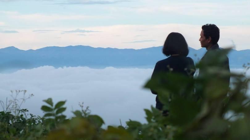 Dua sejoli di Tebing Keraton, Bandung Barat (foto Fx Muchtar)