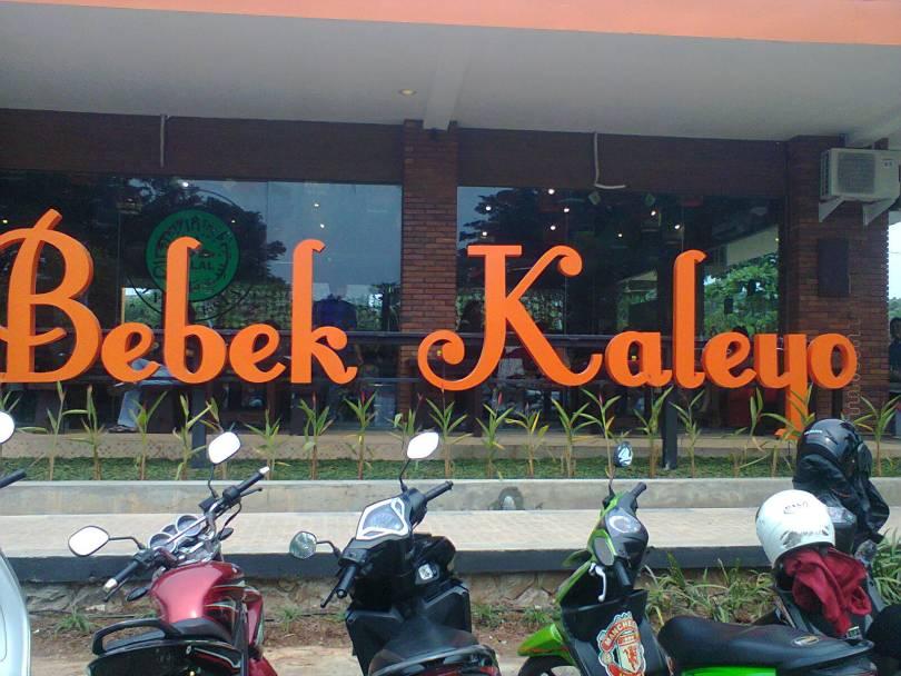 Resto Bebek Kaleyo Grand WIsata Bekasi (Foto: Nur Terbit)