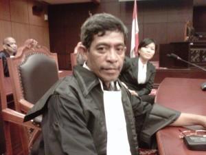 Sebagai kuasa hukum di Mahkamah Konstitusi (MK) -- foto dok pribadi