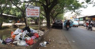 Manggala, salah satu sudut kota Makassar (foto Nur Terbit)