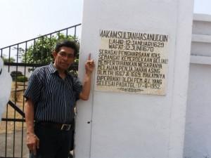 Pintu gerang menuju Makam Sultan Hasanuddin (foto2 dok pribadi Nur Terbit