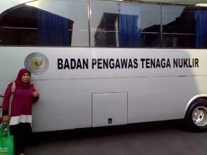 Kendaraan operasional Badan Pengawas Tenaga Nuklir (Bapeten) Jakarta (foto : Nur Terbit)