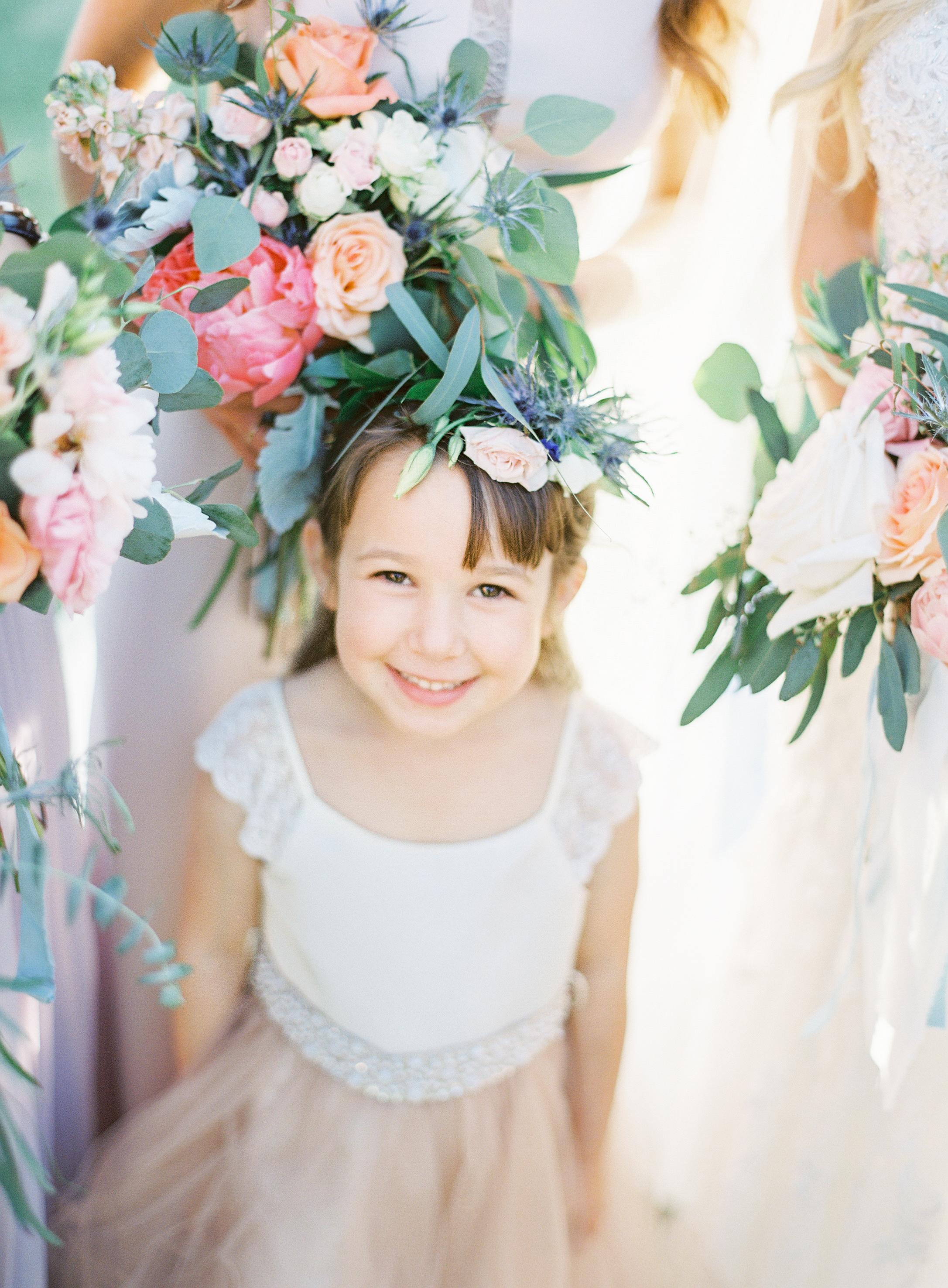Peony springtime wedding flowers