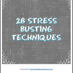 stress busting techniques