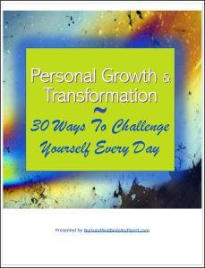 personal development challenge