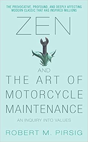 Zen And The Art of Motorcycle Maintenance | Robert M. Pirsig