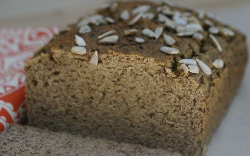 Sprouted Lentil Flour Bread (Grain-Free)
