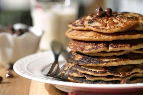 Gluten Free Chocolate Chip Pancakes