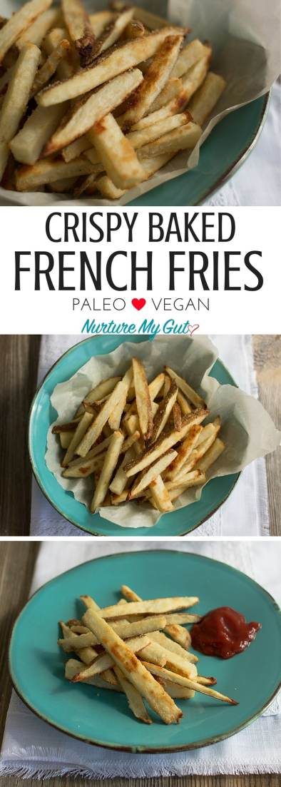 CRISPY BAKED FRENCH-FRIES