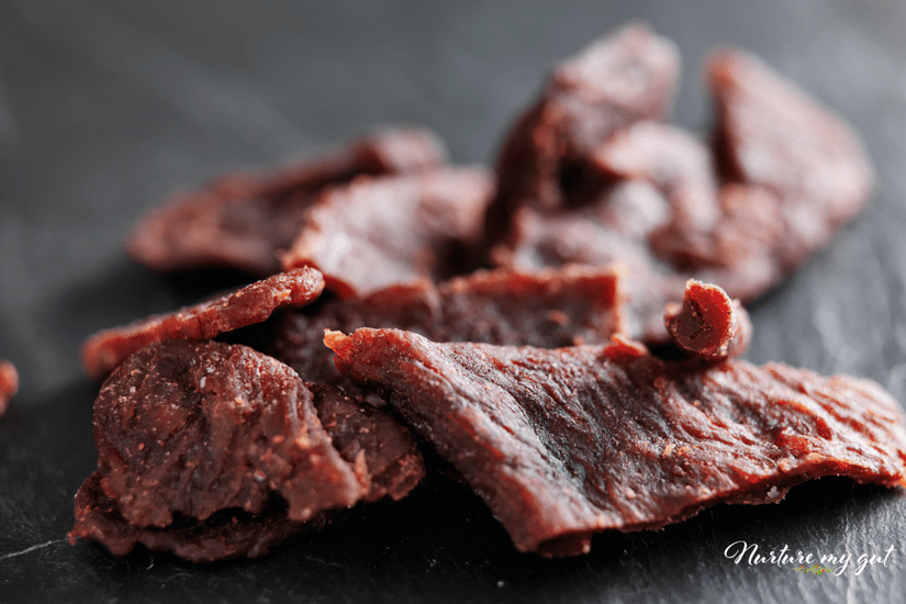 Beef Jerky-25 Gluten Free Snacks for Kids