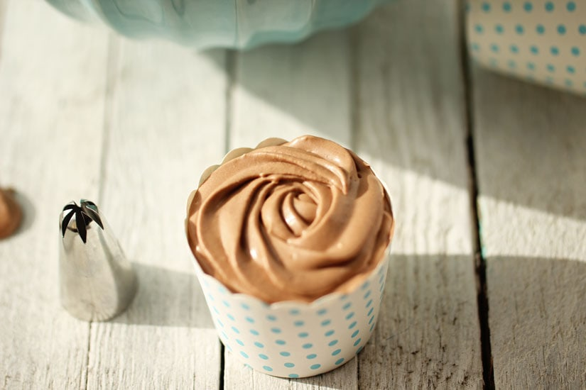 chocolate whipped coconut cream