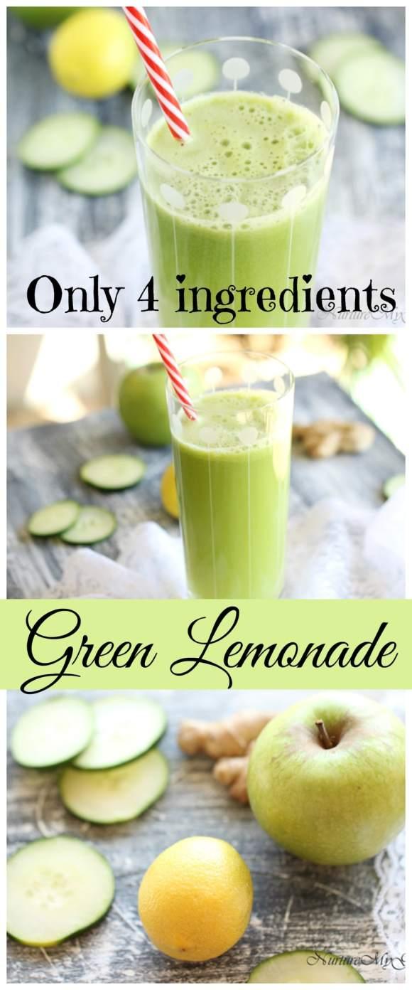 green lemonade pic