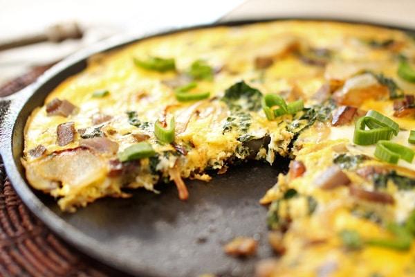Potato and Kale Frittata