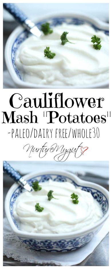 cauliflower mash potatoes