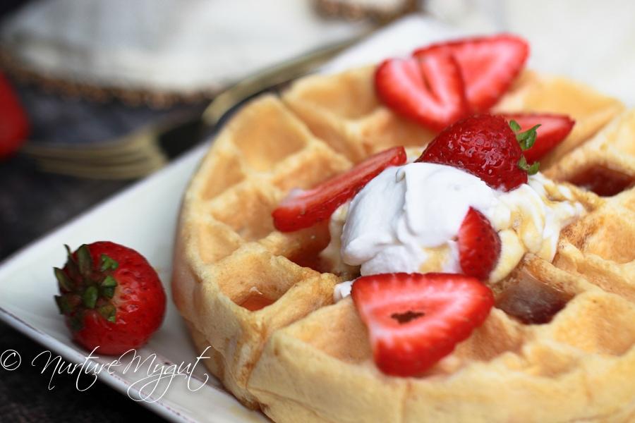 Paleo Waffles with Cassava Flour