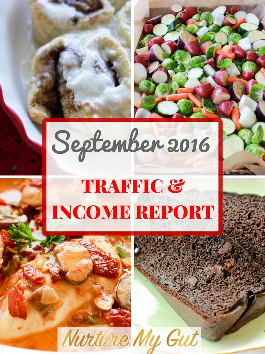 September Traffic and Income Report