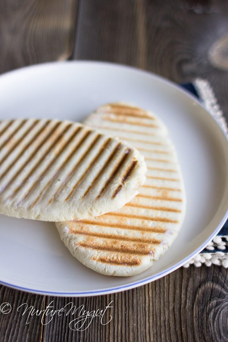 Paleo Panini Bread Recipe Grain freeGluten FreeDairy Free