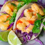 Paleo Bang Bang Shrimp Tacos