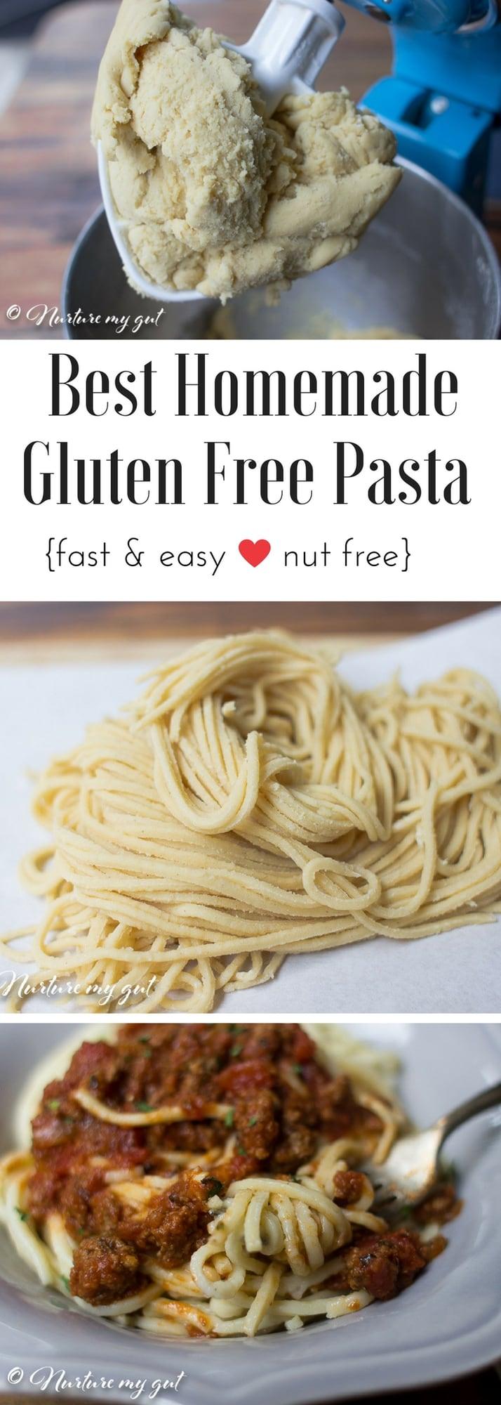 Best Homemade Gluten Free Pasta