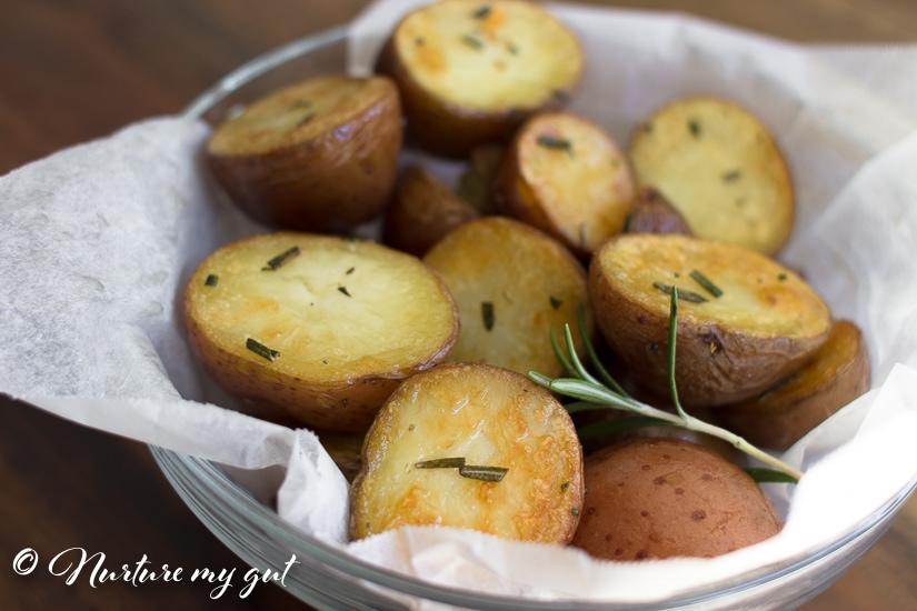 Instant Pot Crispy Rosemary Roasted Potatoes