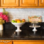 Peel and Stick Tiles: Backsplash Kitchen Makeover