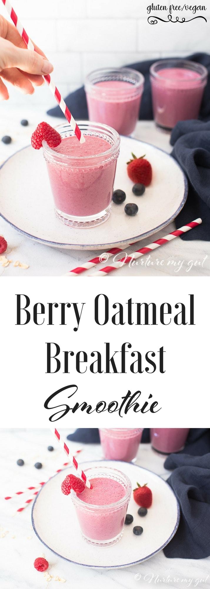 Berry Oatmeal Breakfast