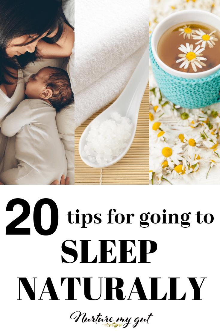 20 Tips for Getting A Good Nights Sleep Naturally