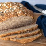 Gluten Free Vegan Bread Loaf Sliced