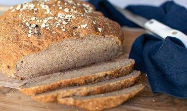 Gluten Free Vegan Bread Loaf Sliced