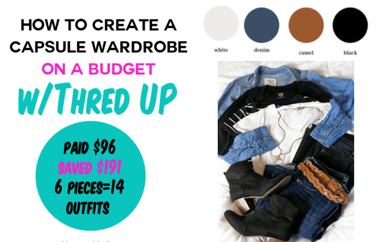 How to Create a Capsule Wardrobe on a Budget with Thred Up
