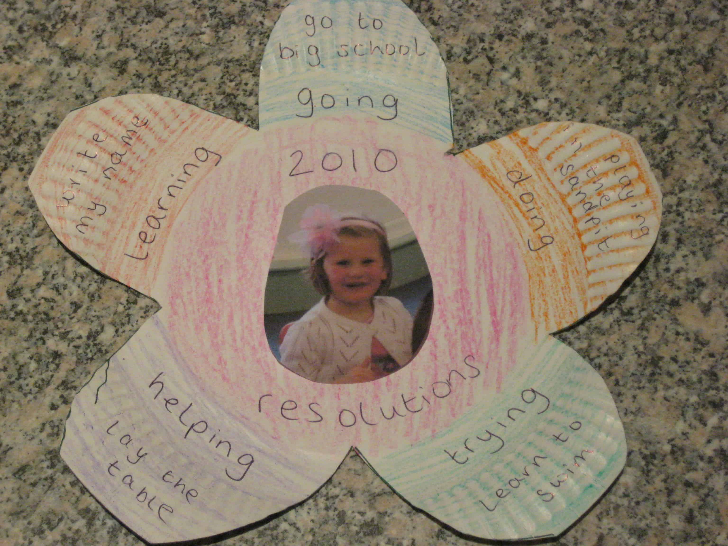 New Year Crafts And Activies
