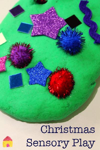 Christmas Sensory Play Activities With Play Dough