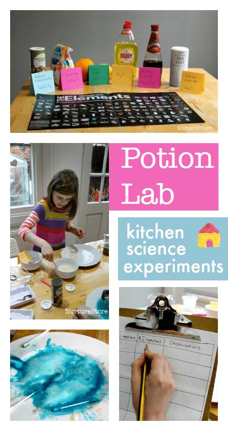 kitchen science herb kit easy experiments potion lab nurturestore