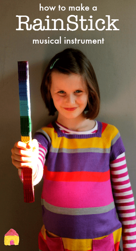 How to make a rainstick musical instrument  NurtureStore