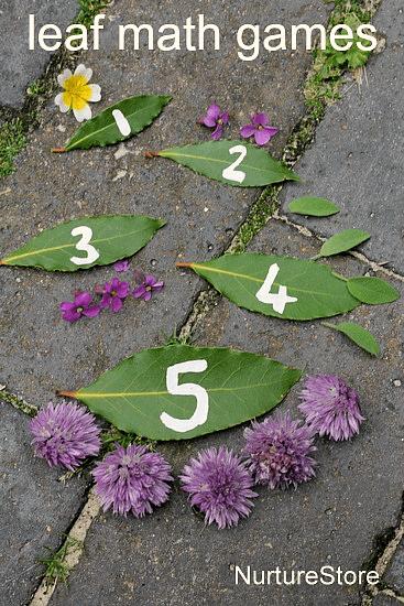 Leaf Math Games For Preschool NurtureStore