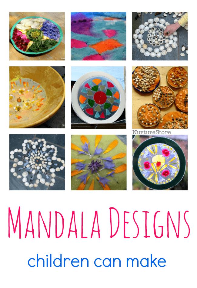 Easy Mandala Designs For Children Nurturestore