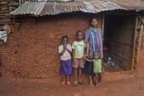 Besuch bei Patenkindern daheim