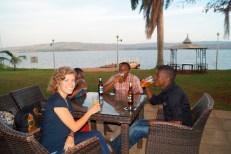 Essen am Nil als Danke für die tolle Arbeit