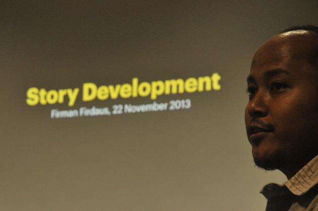 Mas firman firdaus on story development