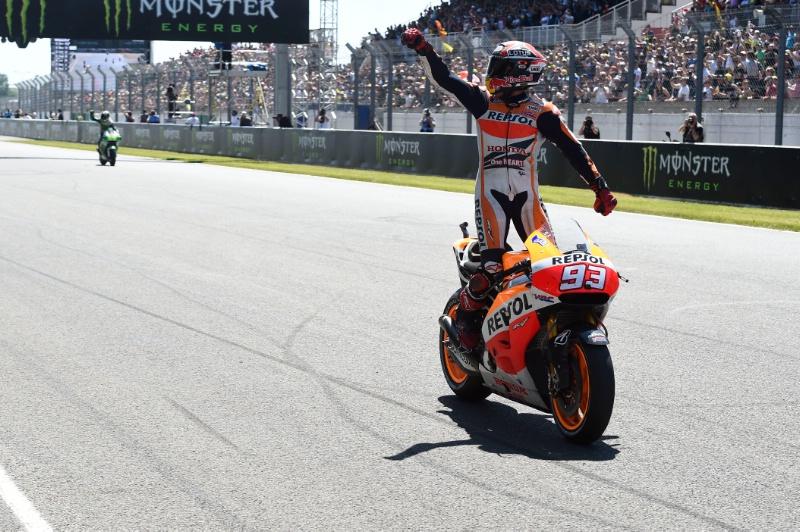 Pembalap Super Marc Marquez