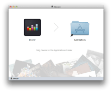 Deezer for Mac Install